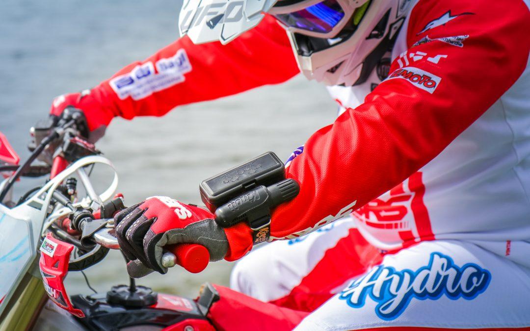 Luca Colombo in collaborazione con Kingii tenta il record mondiale di velocità con moto da cross