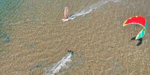 windsurf, kitesurf, sport acquatici